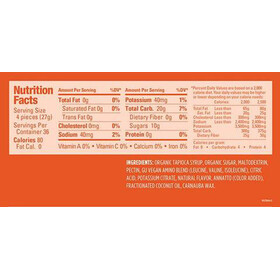 GU Energy Chews Box Orange 24 x 54g